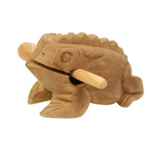 Klang-Frosch Papa kaufen München, unbehandelter Klangfrosch aus Holz kaufen Bayern, quakender Holz-Frosch, Guiro, Güiros, Quakender Frosch, buy croacking frog sound, Klang-Tier Klangfrosch aus Holz, unbehandelter Klangfrosch Papa