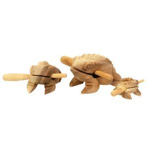 Klang-Frosch Familie kaufen München, unbehandelter Klangfrosch aus Holz kaufen Bayern, quakender Holz-Frosch, Guiro, Güiros, Quakender Frosch, buy croacking frog sound, Klang-Tier Klangfrosch aus Holz, unbehandelter Klangfrosch Familie