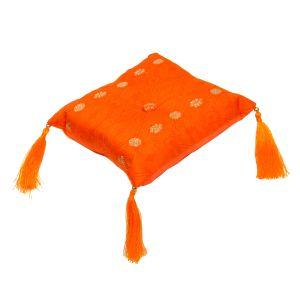 Klangschalen-Kissen orange 16x16x5 cm, quadratisch kaufen München, Klang-Schalen-Zubehör Erding, Klangschalenkissen kaufen Bayern,  Klangschalen Unterlage kaufen, Klangschalen-Kissen orange 16 x 16 cm kaufen