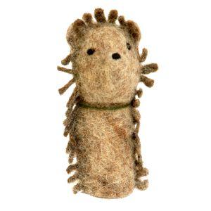 Filz-Fingerpuppe Igel kaufen München, Handgemachte Fingerpuppen aus Filz, Felt, handmade glove puppet hedgehog made of felt, natürliches Kinder-Spielzeug aus Filz, Filz-Finger-Puppe Igel, Filz-Tier, Filz-arbeit, Filzfingerpuppe Igel