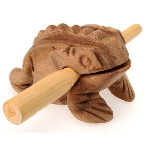 Holz-Klang-Frosch Mama kaufen München, Holz-Klangfrosch, Klangtier - quakender Holzfrosch, Guiro, Güiros, Tierlaut Frosch, buy croacking frog, Klang-Frosch kaufen, Liebessymbol Frosch, Frosch Zeichen für Reichtum - Holzklangfrosch-Mama,