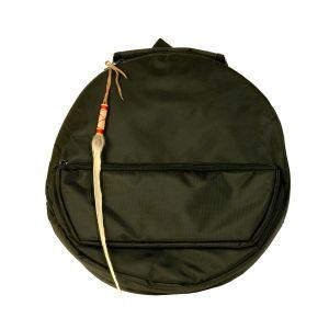 Rahmentrommerucksack Deluxe schwarz, NL - 48 cm kaufen München, Rahmen-Trommel-Rucksack, buy backpack frame drum case for 18