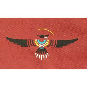 Rahmentrommel-Rucksack Deluxe rot, schwarzer Adler 48 cm kaufen München, Rahmentrommelrucksack kaufen Erding, buy 19