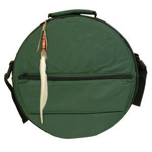 Rahmentrommel-Tasche Deluxe NL dunkelgrün - 32 cm kaufen München, Rahmentrommeltasche kaufen  Bayern, drum case, dark green for 12